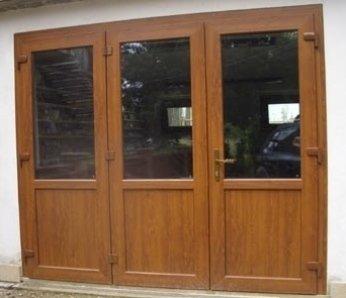 portone in legno, portone a vetri, sarandria, pisa