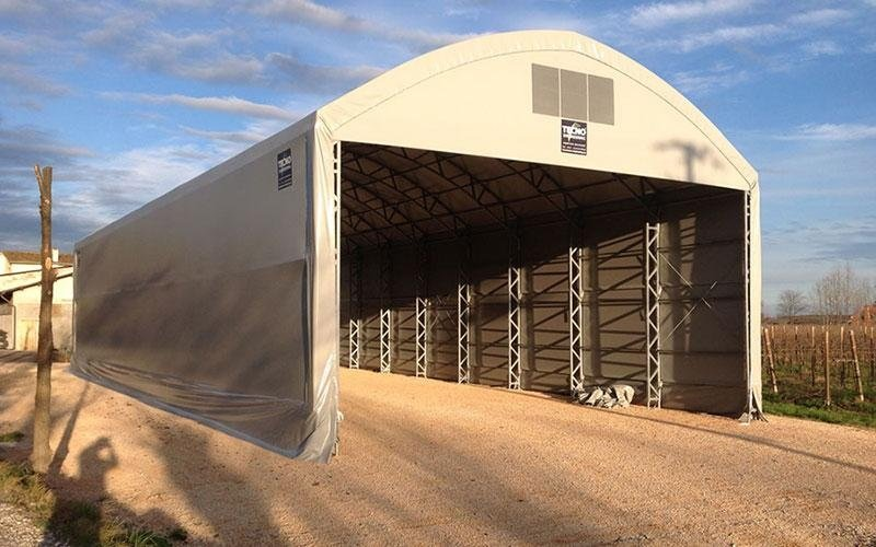 Shed for agriculture