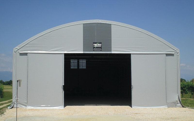 PVC shed