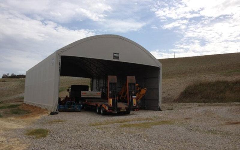 Haymaking tunnels