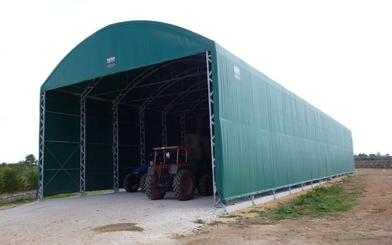 Harvested goods shelter