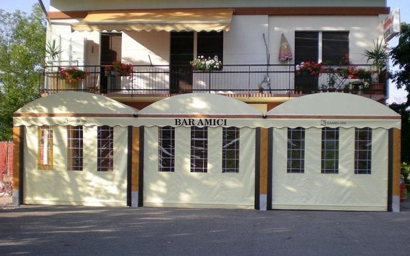 Pavillon für Bars