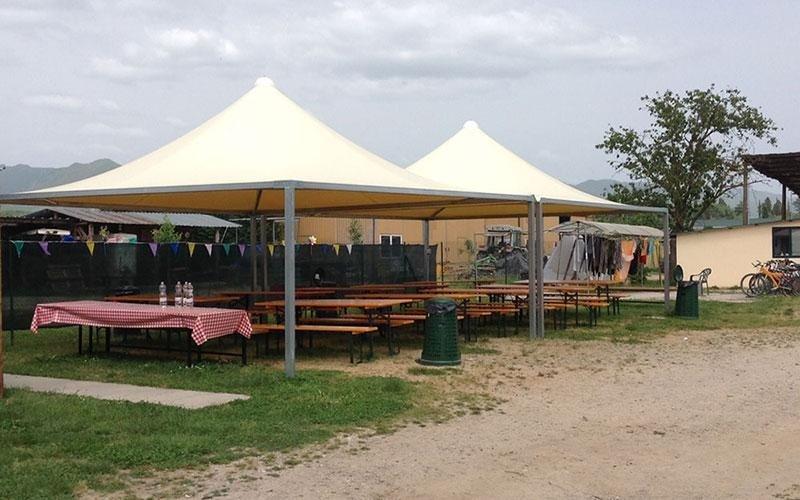 Pavillons aus PVC