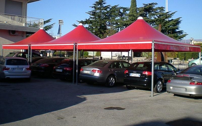 Zelt für Stand