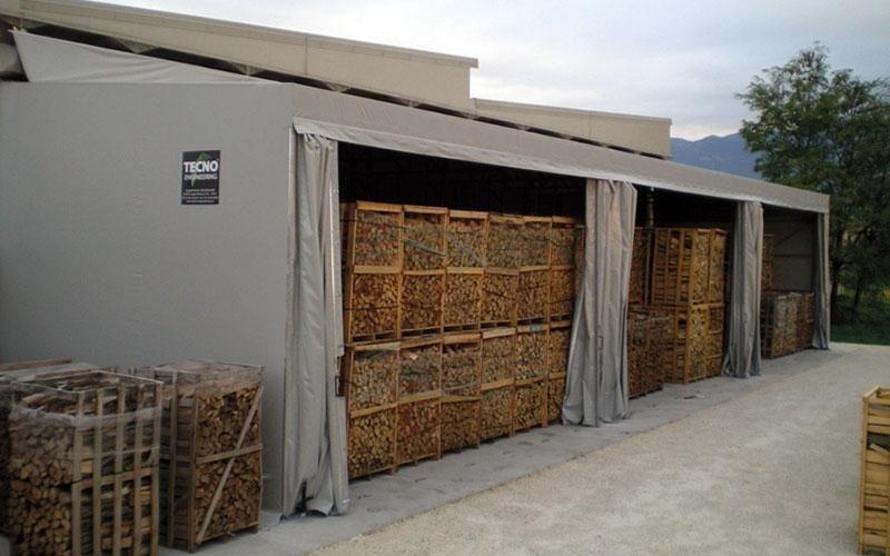 copertura legname