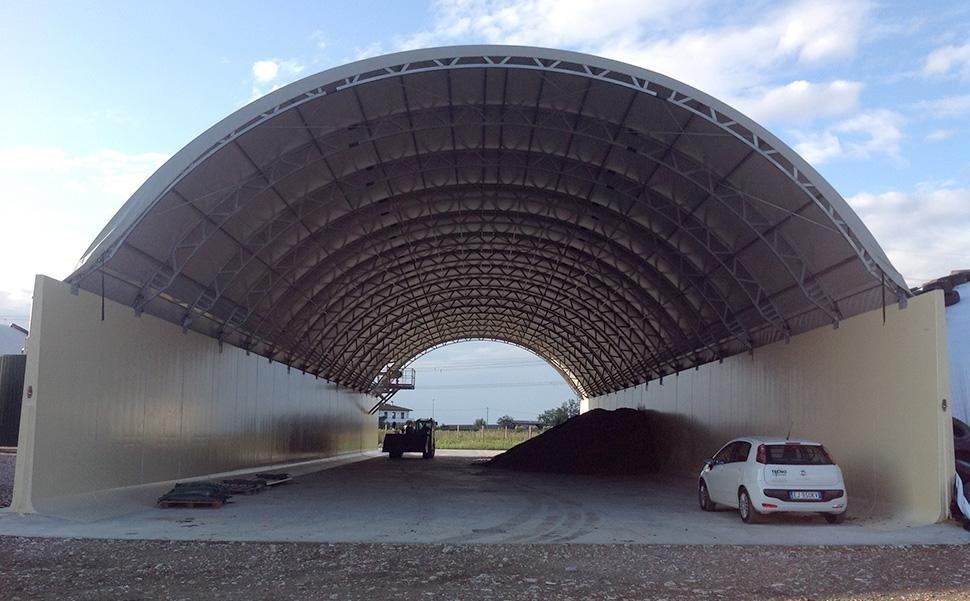tunnel copri trincee