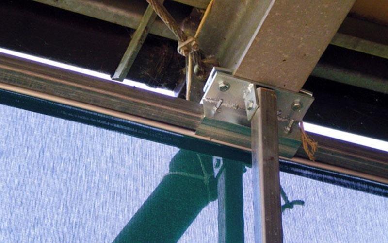 Windbreak net structure