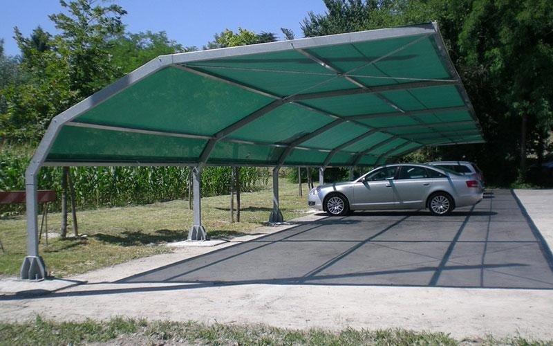 Canvas Car Park Covers Treviso Tecnoengineering Srl