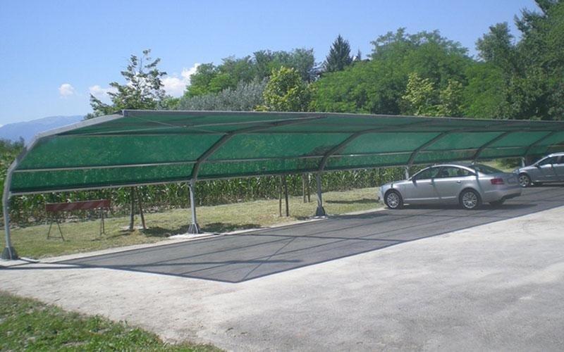 copertura per parcheggi