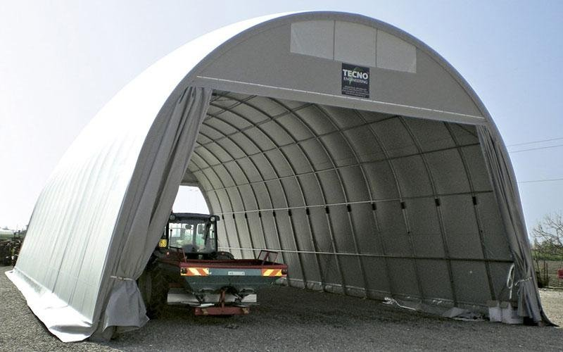 Agricultural tunnels in pvc