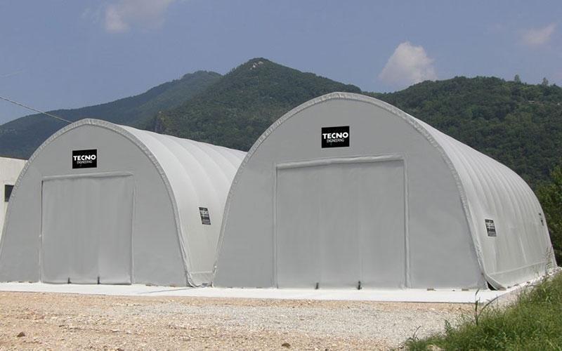 Transparent PCV tunnels