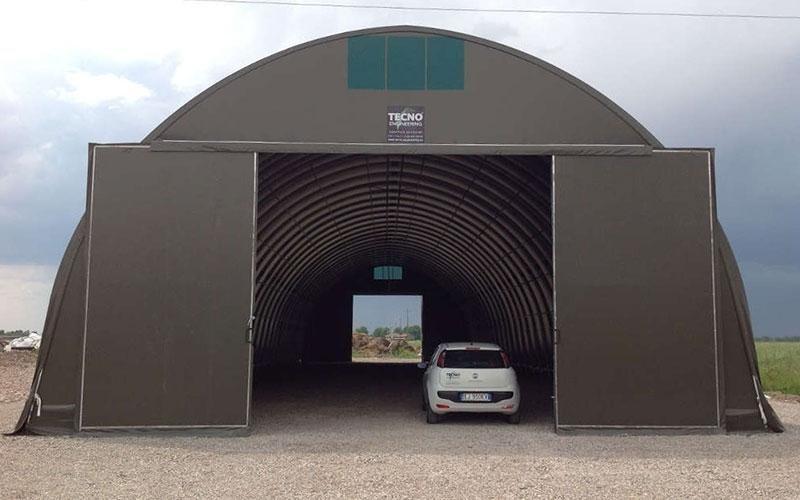 Tractors shelter