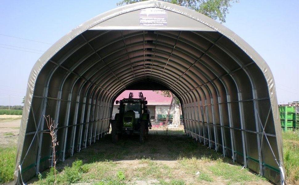 Single arch tunnel AST