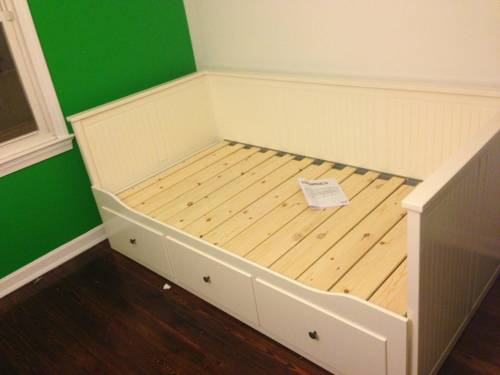 BRIMNES Daybed frame with 3 drawers assembly service in Clifton VA