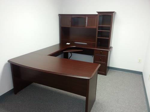Bush office desk with hatch assembly service in DC MD VA