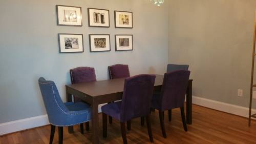 Dining room set assembled in Columbia MD
