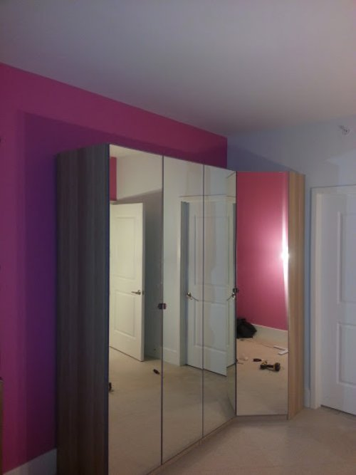 Pax ikea wardrobe assembly services in Tacoma Park MD