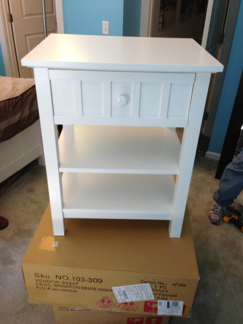 Brighton night stand assembly service in Capitol Heights