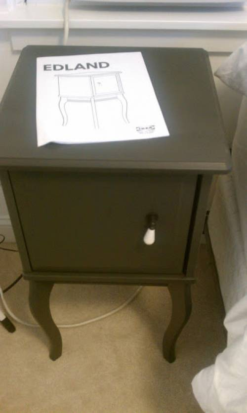 EDLAND IKEA side table assembly service in Germantown MD