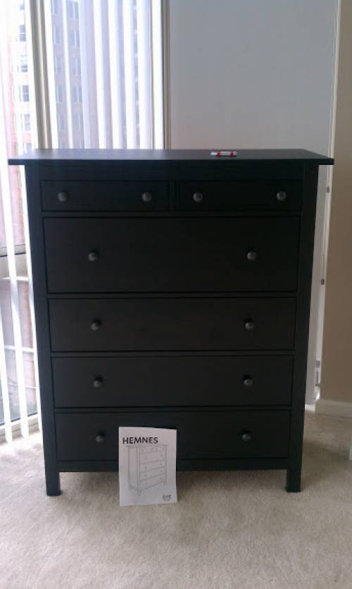 ikea hemnes 6 drawers dresser assembly service in Clinton MD