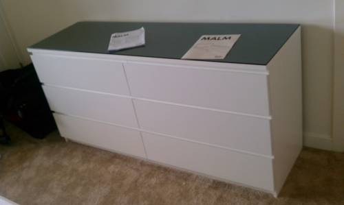 ikea malm dresser assembly service in Gaithersburg MD