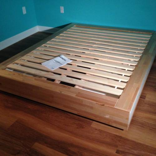ikea mandal bed assembly service in Manassas VA