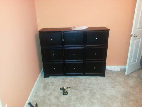 ikea nine drawers dresser assembly service in College Park MD