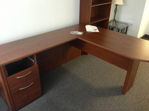 target office l shaped desk assemble service in Fulton MD