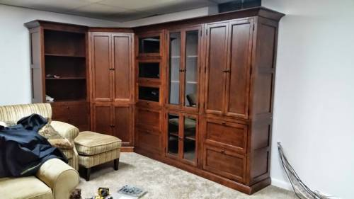 wall units assembly service in Kensington MD