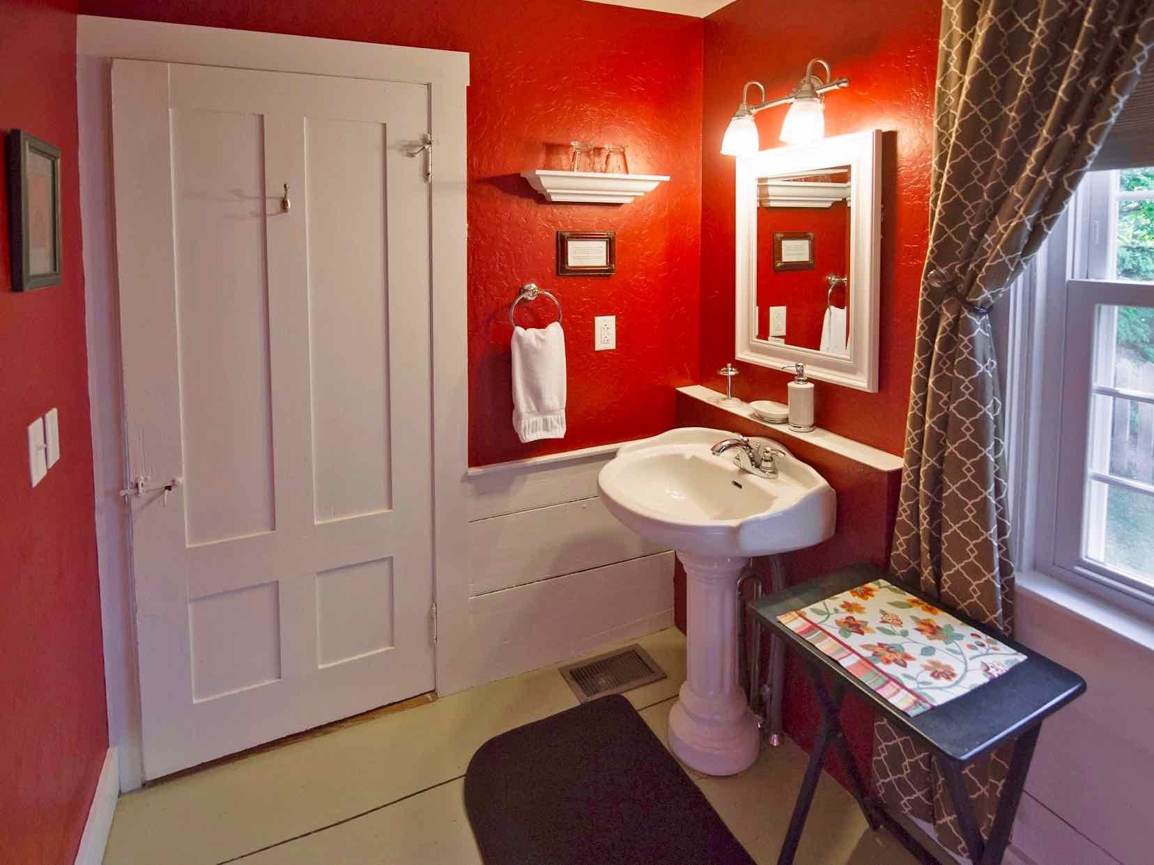 Heritage Suite bathroom