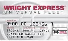Wright Express Universal Fleet