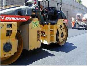Rifacimento manto stradale su tronco S.P. in località Soriano nel Cimino (Vt)
