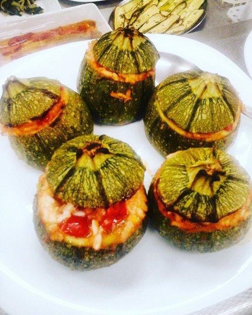 piatti pronti - zucchine ripiene
