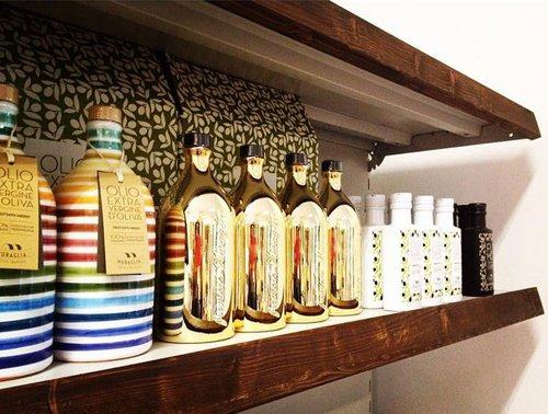 set di oli extra vergine di oliva