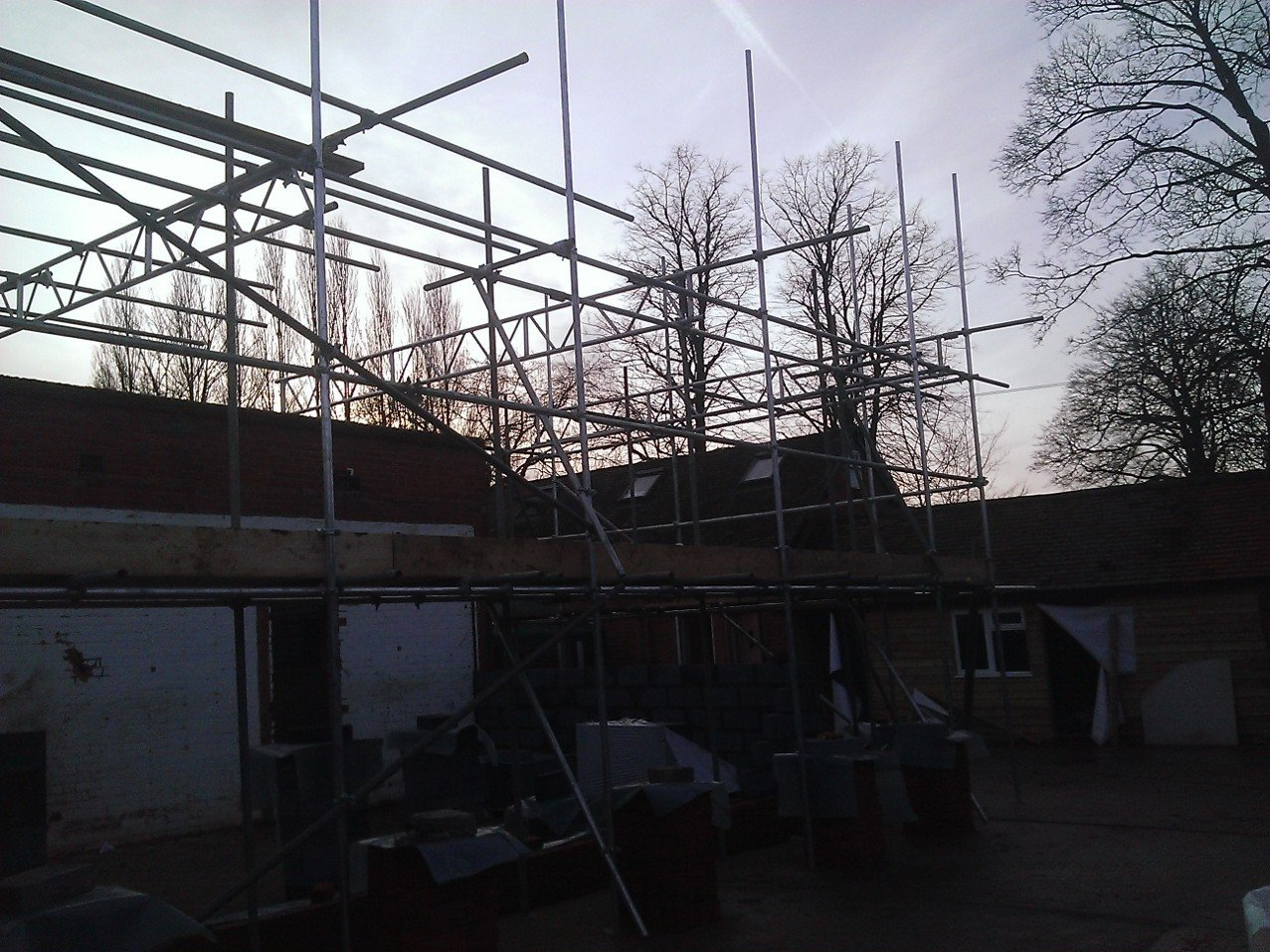 Scaffolding projects