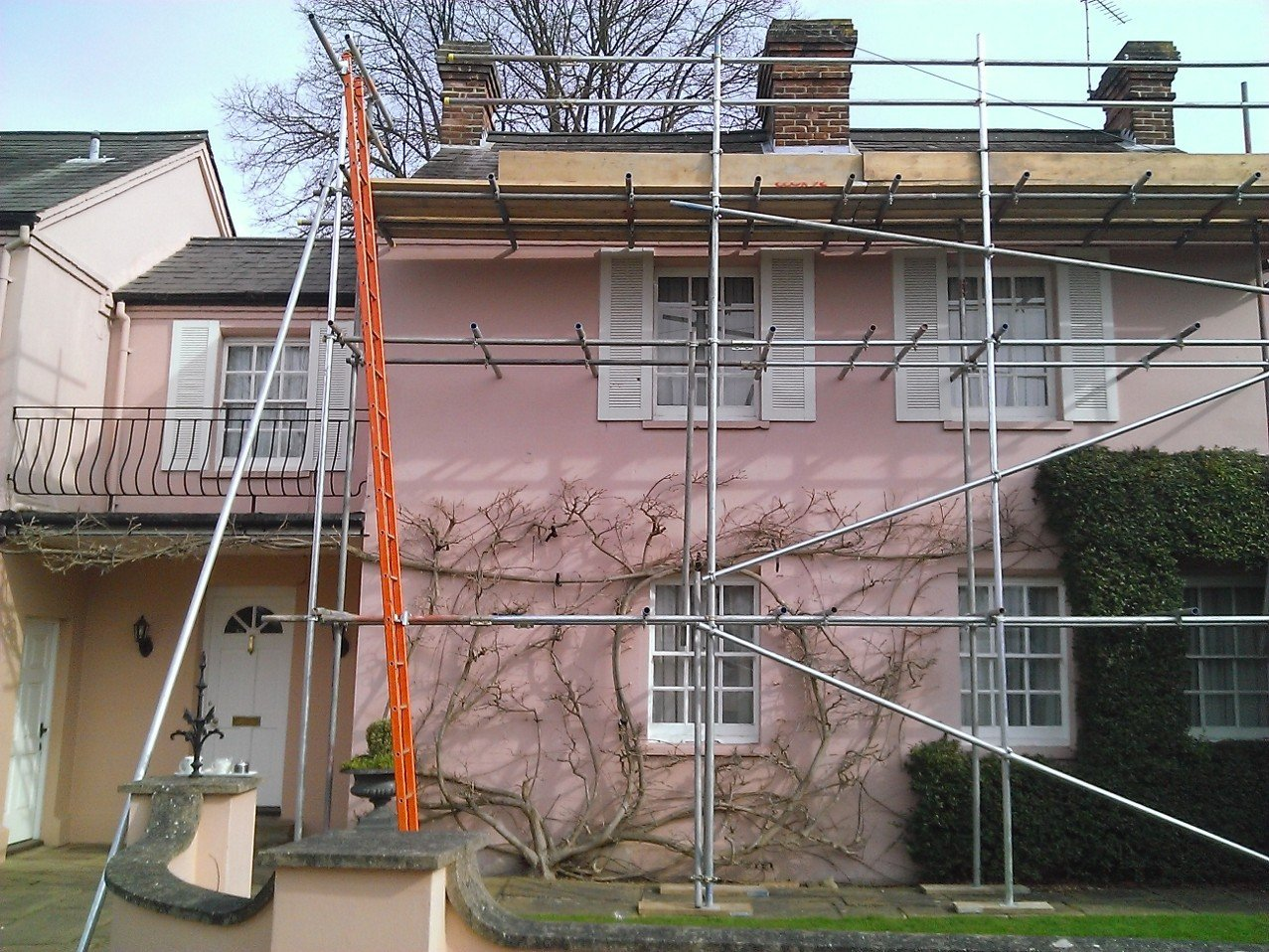 scaffolding for homes