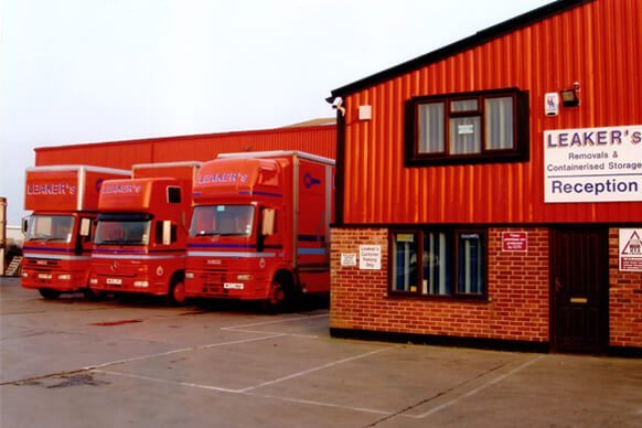leaker's removals reception and various trucks