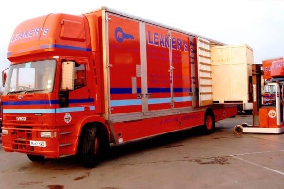 leaker's removals truck