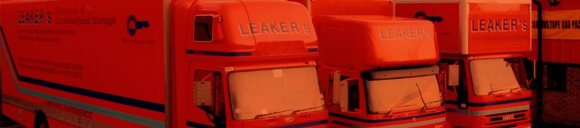 leaker's removals truck closeup