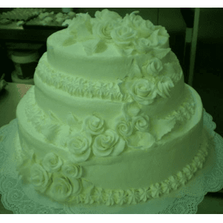 torta bianco avorio
