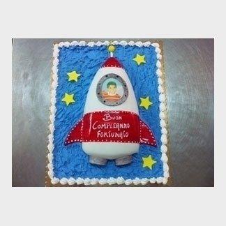 torta navicella spaziale