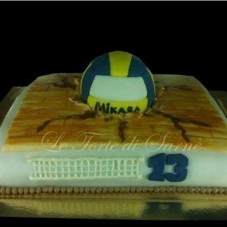 torta pallavolo
