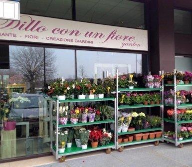 vendita al dettaglio di fiori