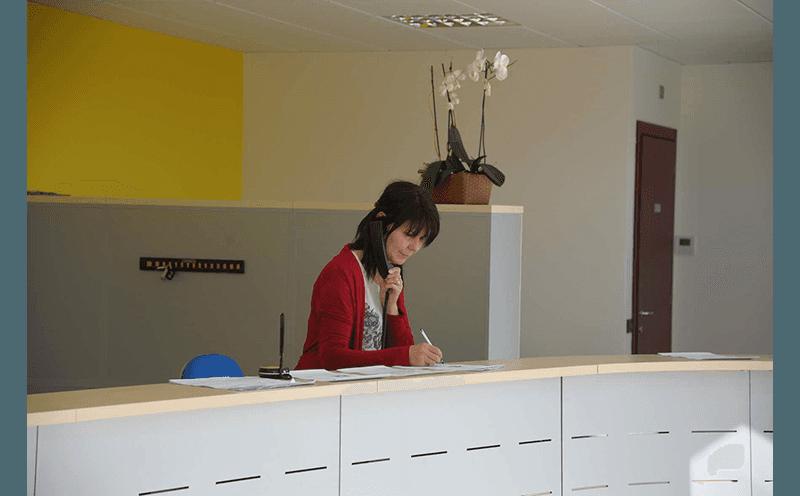 accoglienza clienti