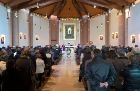 Interno Chiesa Addobbi Funerari