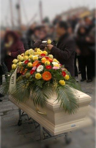 Onoranze Funebri cuscini floreali