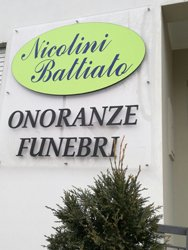 L'impresa Onoranze Funebri Nicolini-Battiato