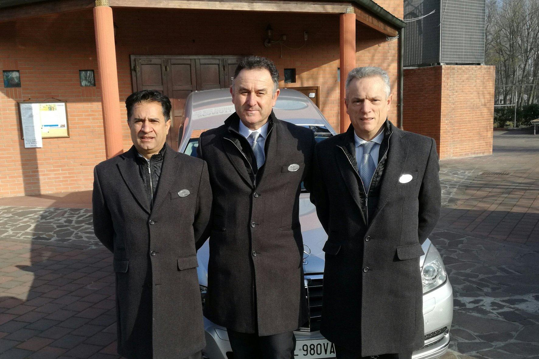 Professionali dell'impresa Onoranze Funebri Nicolini-Battiato