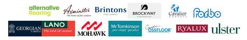 BROCKWAY Brintons ulster logos