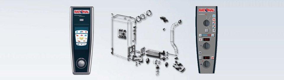 Combi Oven Parts
